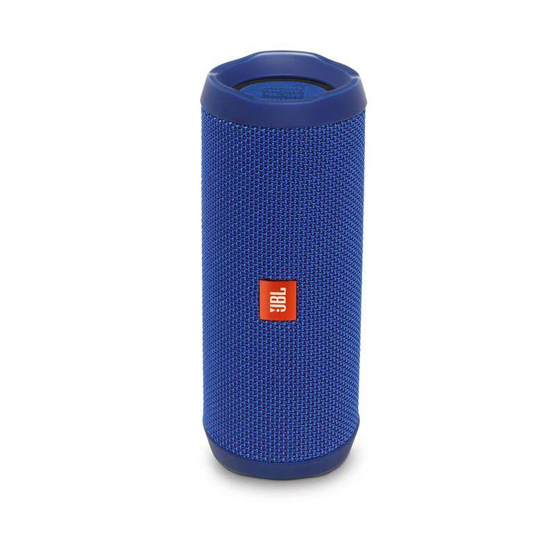 Caixa de Som JBL FLIP 4 - Portátil, Prova dàgua, Viva-voz, Wireless Bluetooth Streaming – Azul
