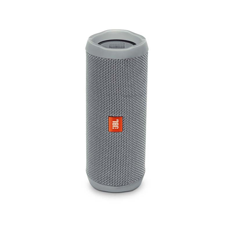 Caixa de Som JBL FLIP 4 - Portátil, Prova dàgua, Viva-voz, Wireless Bluetooth Streaming – Cinza