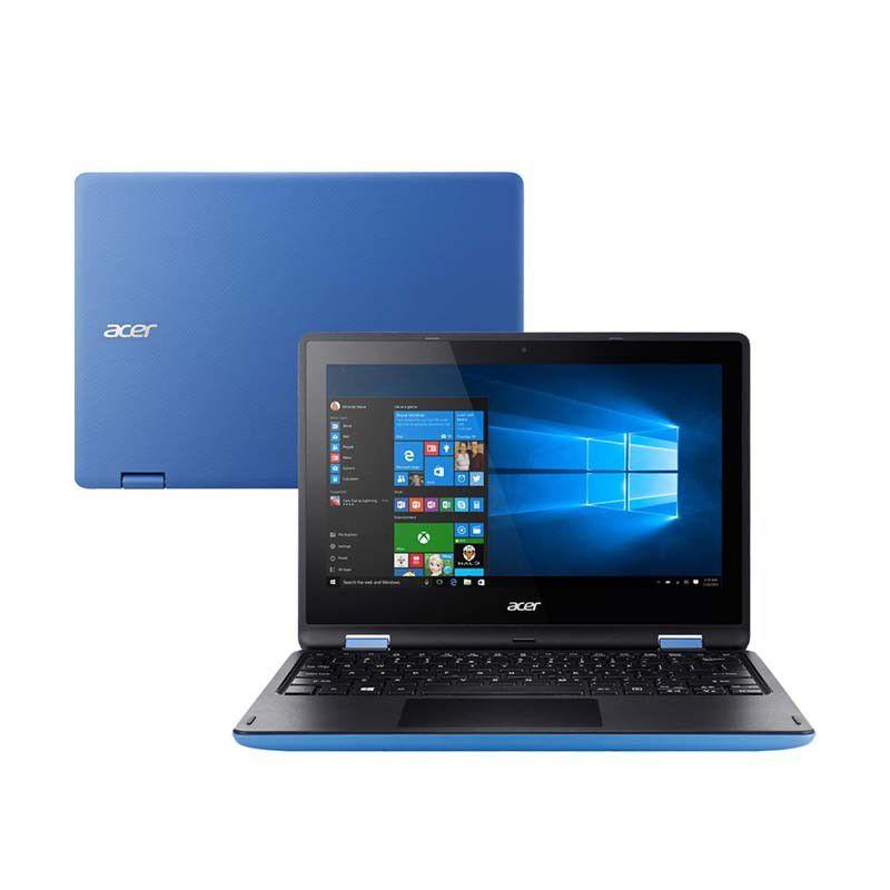 """Notebook 2 em 1 Acer 131T-P7, Intel Quadcore, 4GB de Memória, HD de 500Gb, Tela de 11,6"""", Touchscreen, Windows 10"""