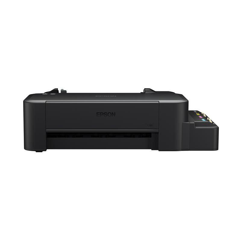 Impressora Epson EcoTank L120, Tecnologia de injeção de tinta MicroPiezo de 4 cores (CMYK), Conexão USB, Resolução 720 x 720 dpi - L120