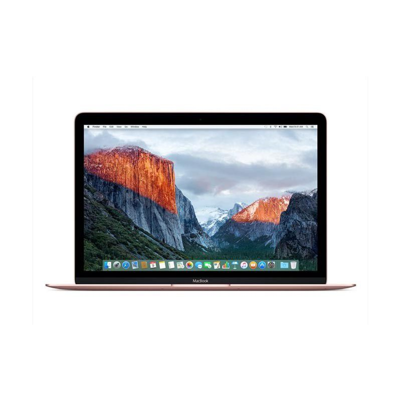 Notebook Apple Macbook Rose - Intel Core M3, 8GB de Memória, SSD de 512 GB, Force Touch, USB C -MNYN2 (início de 2017), Ouro Rosa