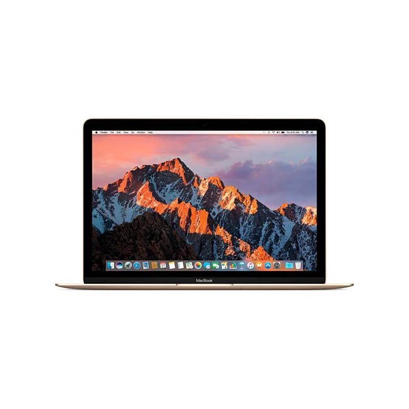Notebook Apple Macbook Gold - Intel Core M3, 8GB de Memória, SSD de 256 GB, Force Touch, USB C - MNYK2 (início de 2017), Dourado