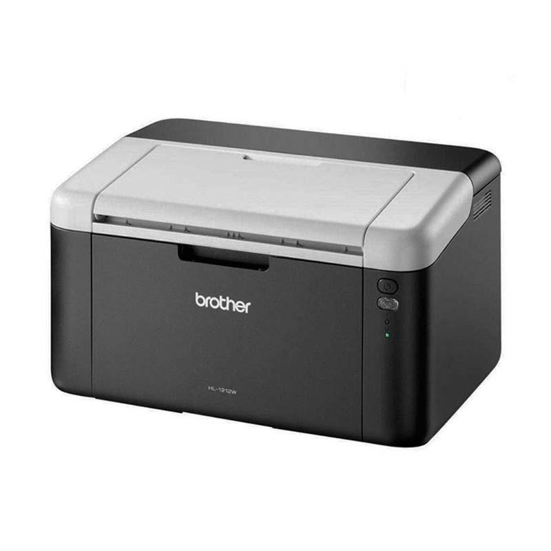 Impressora BROTHER HL1212W, LASER Monocromática,  21PPM, 600 dpi, Ciclo Mensal de 10.000 páginas, Wireless, USB 2.0 - HL1212W