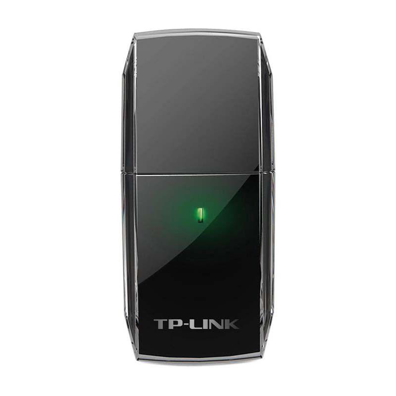 Adaptador USB Wireless TP-Link Archer T2U, Dual Band Ac600, USB 2.0, Antena Omni Direcional - TP-Link Archer T2U