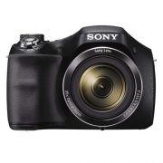 Câmera Digital Sony Cybershot DSC H300 - 20.1MP, Sensor CMOS, Zoom Óptico 35x, Vídeos Full HD, Tela de 3