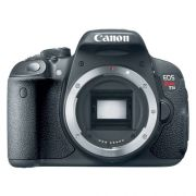 "Câmera Digital Canon EOS  Rebel T5i (Somente corpo) - 18MP, Sensor CMOS, Vídeos Full HD, DIGIC 5+, 5 FPS, Touch Screen, Tela Rotativo 3"""