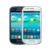 Celular Samsung Galaxy S3 Mini I8200 - 8 GB, 3G, Android 4.2, Câmera de 5 MP, Dual Core 1.2Ghz - Desbloqueado ANATEL