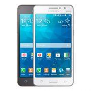 Celular Samsung Galaxy Grand Prime Duos TV - Camera Frontal 5MP, Android 4.4, 3G, 8GB, Quad Core 1.2Ghz, Dual Chip, TV Digital, Desbloqueado ANATEL