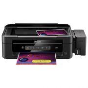 Impressora Multifuncional Epson L355 - Jato de tinta, ePrint, Wi-fi, Copiadora, Scanner, Resolução até 5760 x 1440 dpi, Velocidade de impressão 33 ppm