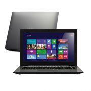 Notebook Ultrafino CCE - Intel i3 Core, Memória de 4GB, HD500GB, Gravador de DVD, Leitor de Cartões, HDMI, Tela de 14´