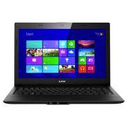 Notebook Lenovo Intel Core i3, Memória de 4GB, HD500GB, Gravador de DVD, Leitor de Cartões, HDMI, Tela de 14