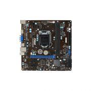 Placa Mãe Intel H81M-E33 LGA 1150 - DDR3 DIMMS, Frequência até 1.600MHz, 2 USB, BIOS PCIe 16x (2.0)
