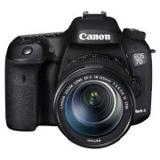 Câmera Digital Canon EOS 7D Mark II + Lente 18-135mm - 20,2MP, Sensor CMOS, DIGIC 6 Duplo, Vídeos Full HD, 10 FPS, ISO até 16000, HDMI, Tela de 3 *