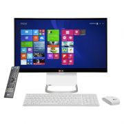 Computador All in One LG 24V550 - Intel Core i5, 4GB de Memória, HD de 500GB, TV Digital, Webcam Rotativa, Tela LED Full HD de 23.8