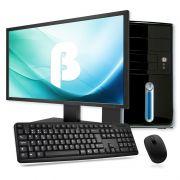 """Computador Intel Core i5 - até 3.3GHz (6ª Geração), 8GB de Memória, HD de 500GB, HDMI, Gabinete ATX + Monitor LED de 18.5"""", Teclado e Mouse *"""