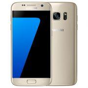 """Smartphone Samsung Galaxy S7 com 32GB, Câmera Dual Pixel, Vídeos em 4K, Processador Octa-core, 4G, Resistênte à água e poeira, NFC, Tela Super AMOLED de 5.1"""" - SM-G930, Platina Dourado *"""