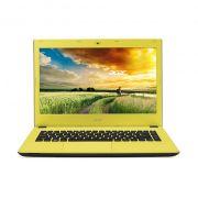"""Notebook Acer Aspire E - Intel Quad Core, 8GB de Memória, HD de 1TB, Tela LED de 15.6"""", Windows 10 - E5-532, Amarelo"""