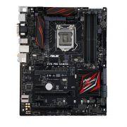 Placa Mãe ASUS ATX Z170-PRO GAMING -  4xDDR4, DP/HDMI/DVI/VGA, USB 3.1 Tipo A e C, Rede Intel, M.2, SLI/CFX, Compatível p/ Intel LGA 1151