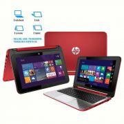 Notebook  2 em 1 Touch HP x360 - Processador Intel Dual Core, 4GB de memória, HD de 500GB, Porta HDMI, Alto-Falantes Beats Audio, Tela LED de 11.6