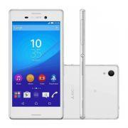 Smartphone Sony Xperia M4 Aqua com 16GB, Dual chip, Câmera de 13.0 MP, 4G, Processador Octa Core, Resistênte à água e poeira, NFC , Tela de 5.0