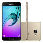 Smartphone Samsung Galaxy A5 2016 Duos com 16G, Dual Chip, 4G, Processador Octa Core, Câmera de 13.0 MP, Selfie de 5.0, Tela Super AMOLED 5.2