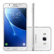 "Smartphone Samsung Galaxy J7 Metal de 16GB, Octa Core, 4G, Câmera de 13MP, Flash LED, Dual Chip, Tela Super AMOLED de 5.5"" - SM-J710 Duos - Branco *"