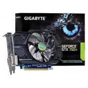 Placa de Video Gigabyte NVIDIA GeForce GTX 750 TI - 1GB, GDDR5 128 BITS - GV-N75TOC-1GI REV 2.0