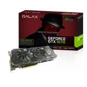 Placa de Video Galax VGA NVIDIA GeForce  1070 EX - 8GB, 256 BITS GDDR5 - 70NSH6DHL4XE