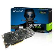 Placa de Video Galax VGA NVIDIA GeForce  GTX1080  EX OC - 8GB, 256 BITS GDDR5 - 80NSJ6DHL4EC *