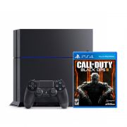 Console Playstation 4 + Call Of Duty Black OPS III - HD 500GB, 8GB GDDR5, Controle Dualshock 4 - PS4 1215A