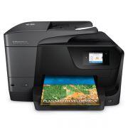 Impressora Multifuncional HP -  Jato de Tinta, Duplex, Copiadora, Digitalizadora, Fax, WiFi, 35PPM - Pro 8710 D9L18A *
