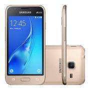 Smartphone Samsung Galaxy J1 Mini Prime, 8GB, Dual Chip, Câmera de 5MP - J106B, Dourado *