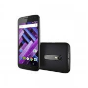 """Celular Motorola G Turbo Dual, 16GB de memória, 4G, Octa-Core, Câmera Principal 13 MP, Tela de 5"""" - XT 1557 Preto"""