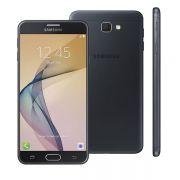 Smartphone Samsung Galaxy J7 Prime com 32GB, Octa Core, Leitor Biométrico, Camera 13MP, Flash Frontal, Dual Chip, Tela FULL HD de 5.5 - SM-G610M - Preto *