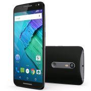 "Smartphone Motorola Moto X Style com 32GB, 4G, Filma em 4k, Câmera 21MP, Tela QHD de 5.7"" - XT1572, Preto *"