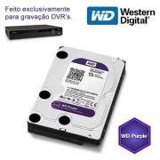 """HD para Desktop 3TB  Western Digital Purple - SATA 3, 7200RPM, 6GB/s, Buffer 64MB, 3.5"""" *"""