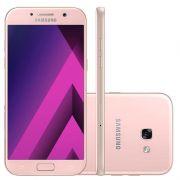 """Smartphone Samsung Galaxy A5 2017, 16 Megapixels, Memória de 32Gb, Processador Octa Core e Tela 5.2"""" - A520F/DS - Rose/Rosa"""