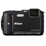 """Câmera Digital Nikon Coolpix AW130, 16.0 Megapixels, Zoom 5x, Tela LED 3"""", a Prova d'água e Quedas, Wi-Fi, GPS *"""