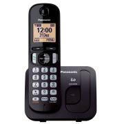 Telefone sem Fio Panasonic , Dect 6.0, Viva-Voz, Teclado Iluminado  - KX-TGC210LBB