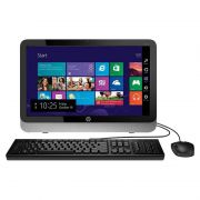 "Computador All in One HP 19-2200BR, Intel Core I3, Memória de 4GB, HD de 500GB, Tela 19.5"", WiFi, Windows 8.1 - QZ301AA"