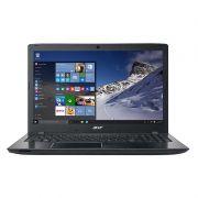 """Notebook Acer Aspire E5-575 - Intel Core i5 de 7ª Geração, 4GB de Memória, HD de 1TB, Wireless AC, Teclado numérico, Tela 15.6"""", Windows 10 - E5-575-5493 aluminium black"""