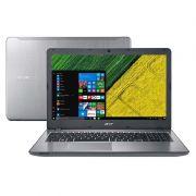 """Notebook Acer Aspire F5-573 51LJ  - Intel Core i5, 7ª Geração, 8GB de memória, HD de 1TB, HDMI, USB 3.1 C, Gravador de CD/DVD, Tela 15,6"""", Windows 10 - Aluminium"""