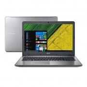Notebook Acer Aspire F5-573G 59AJ, com Intel Core i5, 6ªGeração, 8GB de Memória, HD de 1TB, Placa de Vídeo GeForce 940MX de 2GB, Gravador de CD/DVD, Tela 15.6, Windows 10 - F5-573G-59AJ - PRATA