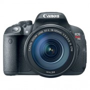 "Câmera Digital Canon EOS Rebel T5i + Lente 18-135mm - 18MP, Sensor CMOS, Vídeo Full HD, DIGIC 5+, 5 FPS, Touchscreen, Tela Rotativa 3"" *"