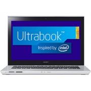"""Ultrabook Sony Vaio SVT14-126CXS Intel Core i5 (3ª Geração), Memória 6GB, HD 500GB + SSD 24GB, USB 3.0, Tela LED 14"""" TOUCHSCREEN e Windows 8 $"""