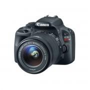 "Câmera Digital Canon EOS Rebel SL1 Full HD + Lente 18-55mm - 18MP, Sensor CMOS, DIGIC 5, ISO de 100-12.800, HDMI, Tela de 3"""