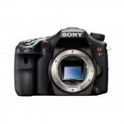 Câmera Semiprofissional Sony Alfa SLT-A77 (somente corpo) Filma em Full HD, Resolução 24,3MP, Steady Shot, Face Detection, Smile Shutter, Foto Panorâmica e Foto Panorâmica 3D
