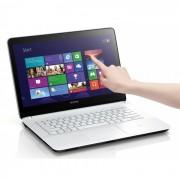 Notebook Sony Vaio Ultrafino SVF14 Intel Core i5 (3ª Geração), mem. 6GB, HD 750GB, DVD-RW, Tela LED 14´TOUCHSCREEN  Windows 8 (Branco)