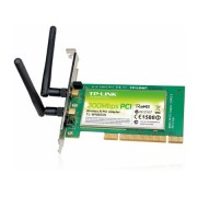 Placa de rede Wireless N TP-LINK - 2.4GHz, 300Mbps, MIMO, 2 Antenas - TL-WN851ND *