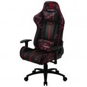 Cadeira Gamer BC3 Blood Dusk ThunderX3 Camuflado vermelho